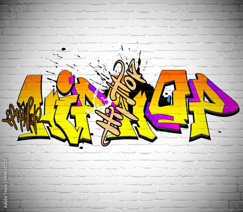 fototapete graffiti wand hintergrund urban art aerosol fototapeten. Black Bedroom Furniture Sets. Home Design Ideas