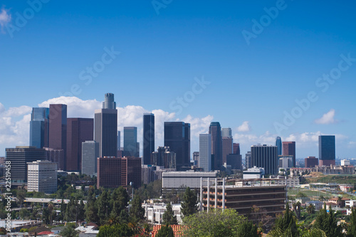 Fototapete - Los Angeles Skyline